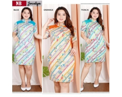 JOCELYN Big Size Dress Batik Modern Jumbo (NB)