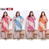 Kyra Dress Batik Big Size Jumbo fit up to XXL (BAP)