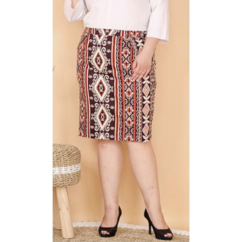 CLAUDIA Rok Jumbo Batik - Big Size fit up to XXL