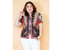 MALIA Batik Jumbo Top - Big Size Fit Up to XL