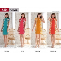 ASTRID Two Tone Dress Batik Modern Katun Stretch (AIO)