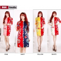 AMALIA Dress Bodycon Batik Modern AllSize (BQH)