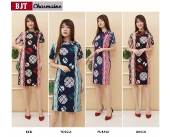 CHARMAINE Dress Wanita Batik Modern One Size (BJT)