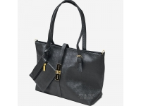Paula Sling Tote Bags + Pouch - BLACK