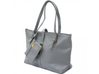 Paula Sling Tote Bags + Pouch - GREY