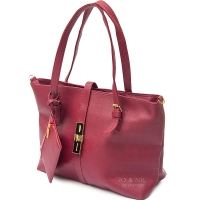 Paula Sling Tote Bags + Pouch - RED