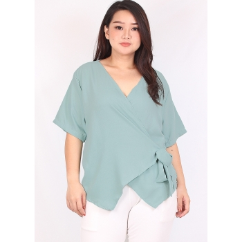 Kimono Big Size Blouse - Atasan Wanita Jumbo fit up to XXXL
