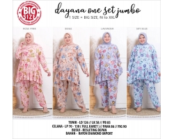 DAYANA Setelan Jumbo - One Set Big Size Muslim