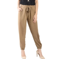 Raissa Comfy Jogger Pants - BROWN1