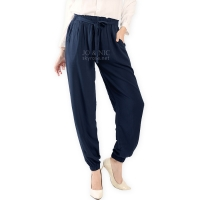 Raissa Comfy Jogger Pants - NAVY