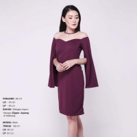 Darlene Cape Dress