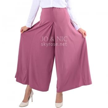 Tara Umbrella Skirt Pants - DUSTYPINK