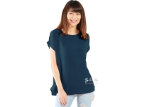 Claire Back-Zip Simply Top - NAVY