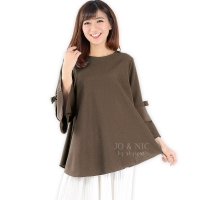 Kimberly Tunik Top (Blouse Jumbo) - CHOCO