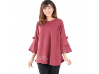 Kimberly Tunik Top (Blouse Jumbo) - PINK
