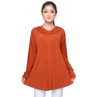 NIKITA Blouse Wanita Jumbo - Tunik Big Size fit to XL
