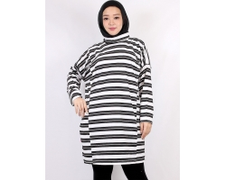 ALDIRA/ALIYAH Dress Atasan Tunik Wanita Turtleneck Busui Big Size/Jumbo fit up to XXL