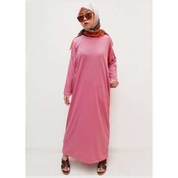 MELISA Gamis Wanita Polos Jumbo Busui - Dress Muslim Big Size fit up to XXL (2)