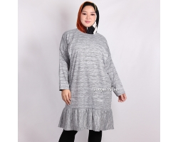 CELESTE Tunik Dress Jumbo Wanita Ruffless Busui Friendly - Big Size Fit up to XXL (3)