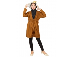 PAMELA Cardigan Wanita - Outer Muslim AllSize fit up to L besar