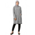 WENDY Tunik Wanita Busui Jumbo - Atasan Muslim LD 140 Big Size fit up to XXL
