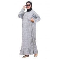 TANIA Gamis Jumbo Wanita Ruffle Busui Friendly - Dress Muslim Big Size fit up to XXL (4)