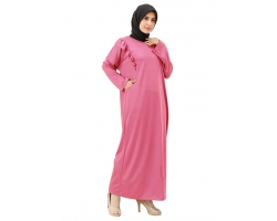 FELICIA Gamis Wanita Jumbo Ruffle - Dress Muslim Big Size fit up to XXL