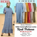 TABITA Gamis Jumbo Ruffles Busui Friendly - Dress Muslim Maxi Big Size fit up to XXL