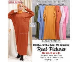 MELISA Gamis Jumbo Busui Kantong Samping - Dress Muslim Big Size fit up to XL (3)