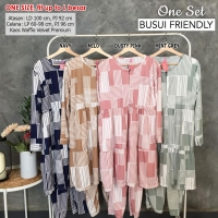 CHINTYA One Set Atasan Tunik dan Celana Busui Friendly fit up to L besar