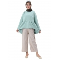 CHELSEA Atasan Peplum Top Jumbo Busui - Tunik Wanita Big Size fit up to XL