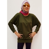 GERALDINE Atasan Kaos Batwing Jumbo - Blus Wanita Big Size fit up to XXL (7)