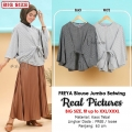 FREYA Blouse Jumbo Batwing - Atasan Wanita Big Size fit up to XXL (2)