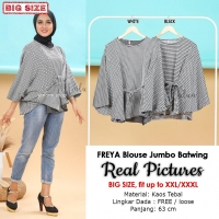 FREYA Blouse Jumbo Batwing - Atasan Wanita Big Size fit up to XXL (4)