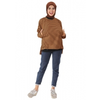 NABILA Blouse Jumbo Wanita Busui Friendly - Atasan Big Size Fit up to XXL (2)