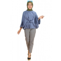 FRIEDA Blouse Batwing Jumbo Fit XXL LD FREE up to 150 cm - Atasan Big Size (2)