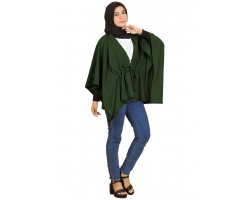 MICHELLE Blouse Batwing Jumbo Serut Kombinasi - Atasan Wanita Big Size fit up to XXL (2)