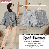 FREYA Blouse Jumbo Batwing - Atasan Wanita Big Size fit up to XXL (3)