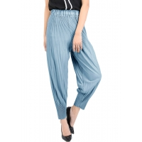 Melissa Pleated Pants / Celana Lipit - BLUE2