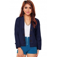 6-Buttons Blazer - NAVY