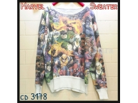 MARVEL Avengers Knit Sweater Top