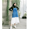 EMMA Dress Overall Denim mix Tutu