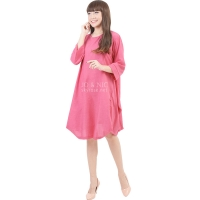 Sylvia Wing Tunic Dress - PINK