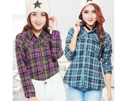 Stacey Plaid Shirt [FLN]