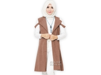 Fiona Unique Vest - BROWN2