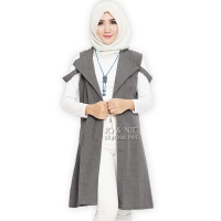 Fiona Unique Vest - GREY/DARKGREY
