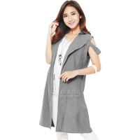 Fiona Unique Vest - LIGHTGREY