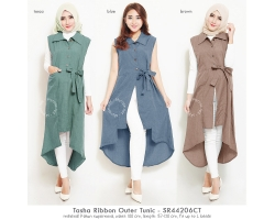 Tasha Ribbon Outer Tunic [TNK02]