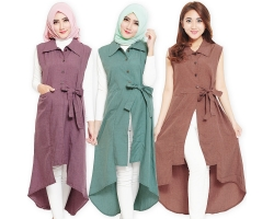 Tasha Ribbon Outer Tunic [TNK]