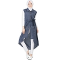 Tasha Ribbon Outer Tunic - BLUE3 [TNK02]